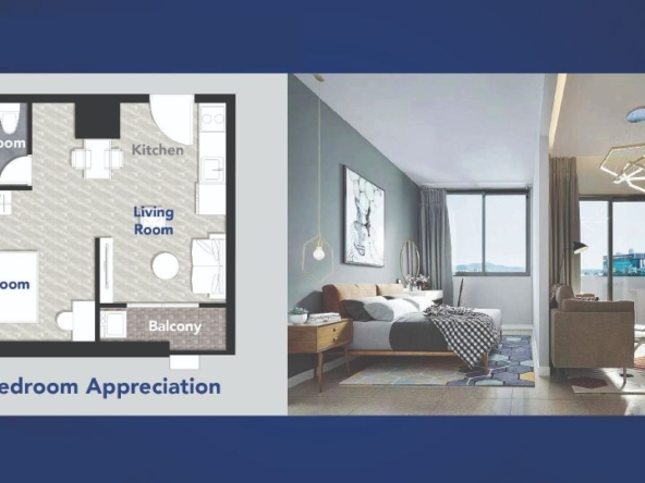 Appreciation 1 bedroom