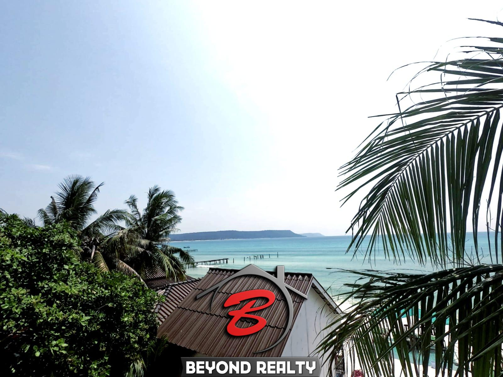 hotel property beach resort for rent in Sok San Beach in Koh Rong in Cambodia
