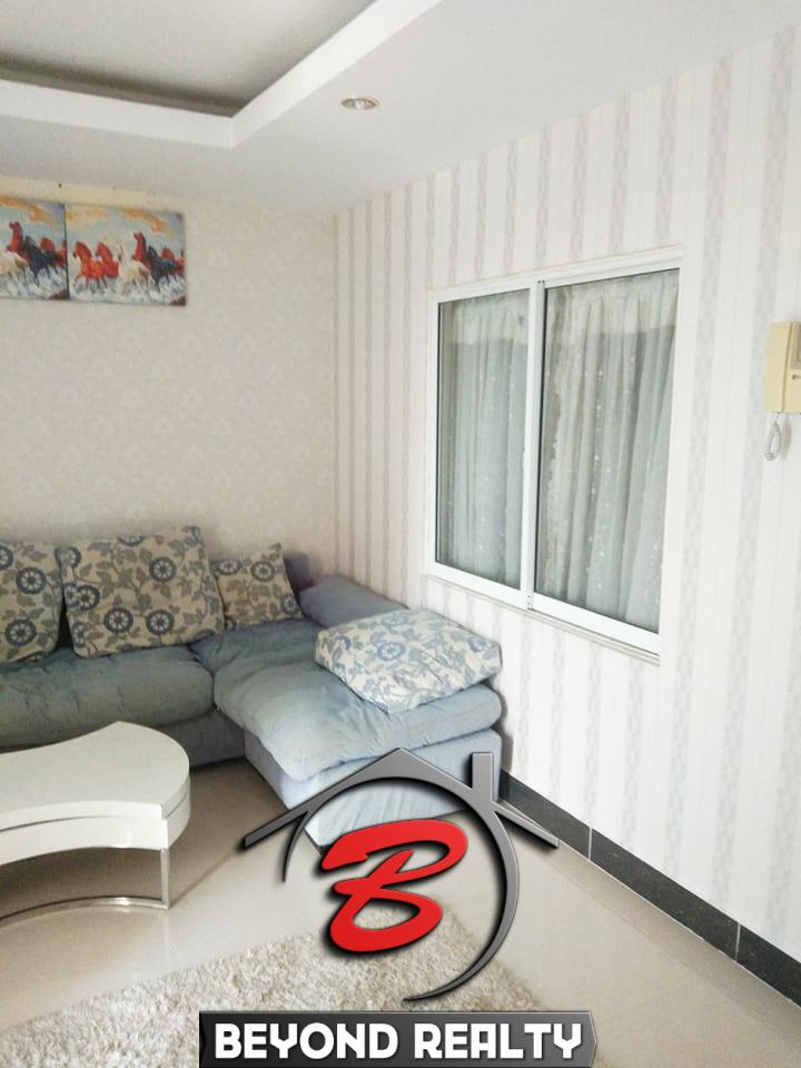 living room of the UK condo for sale and for rent in Phnom Penh