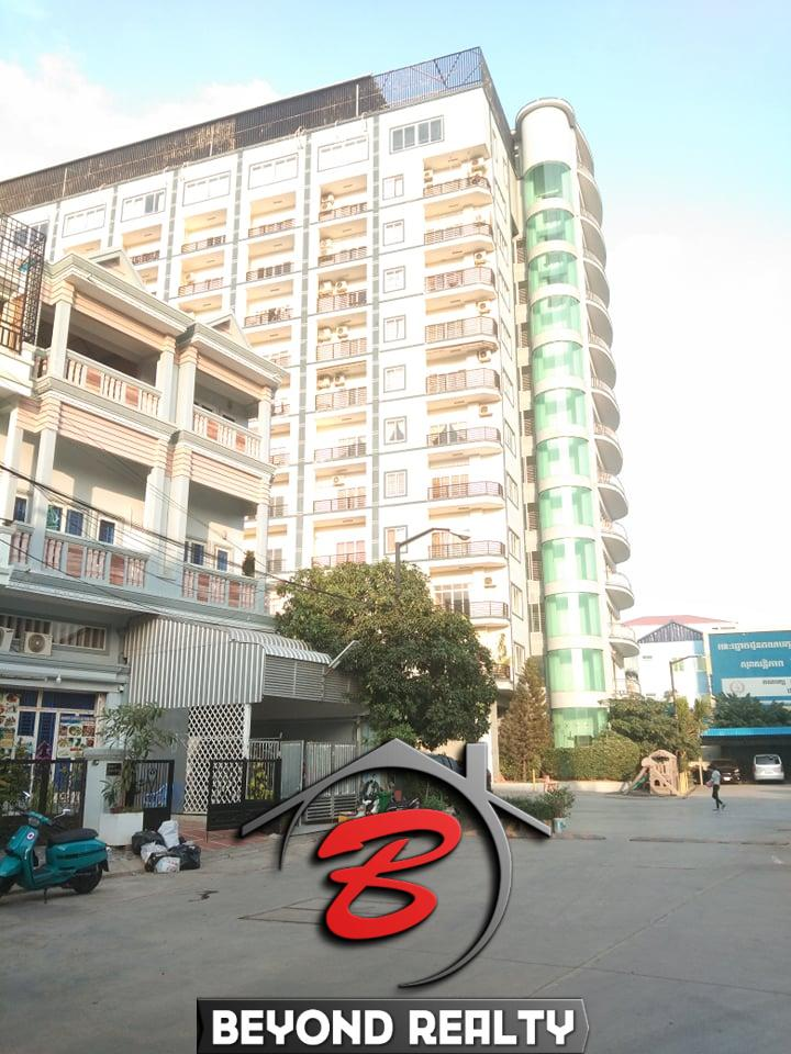 gate of the UK condo for sale and for rent in Phnom Penh