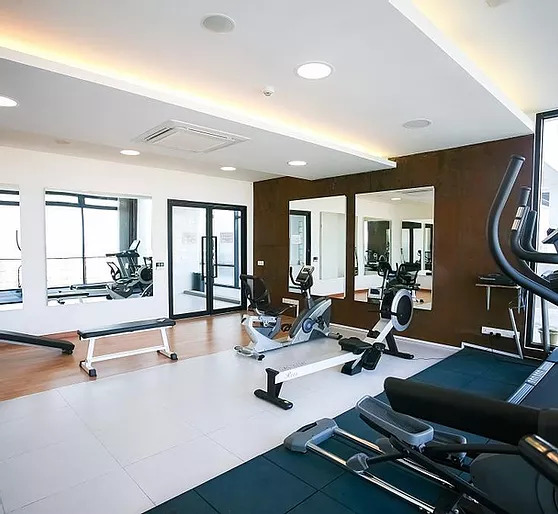 gym of the grade A office for rent in Daun Penh Phnom Penh
