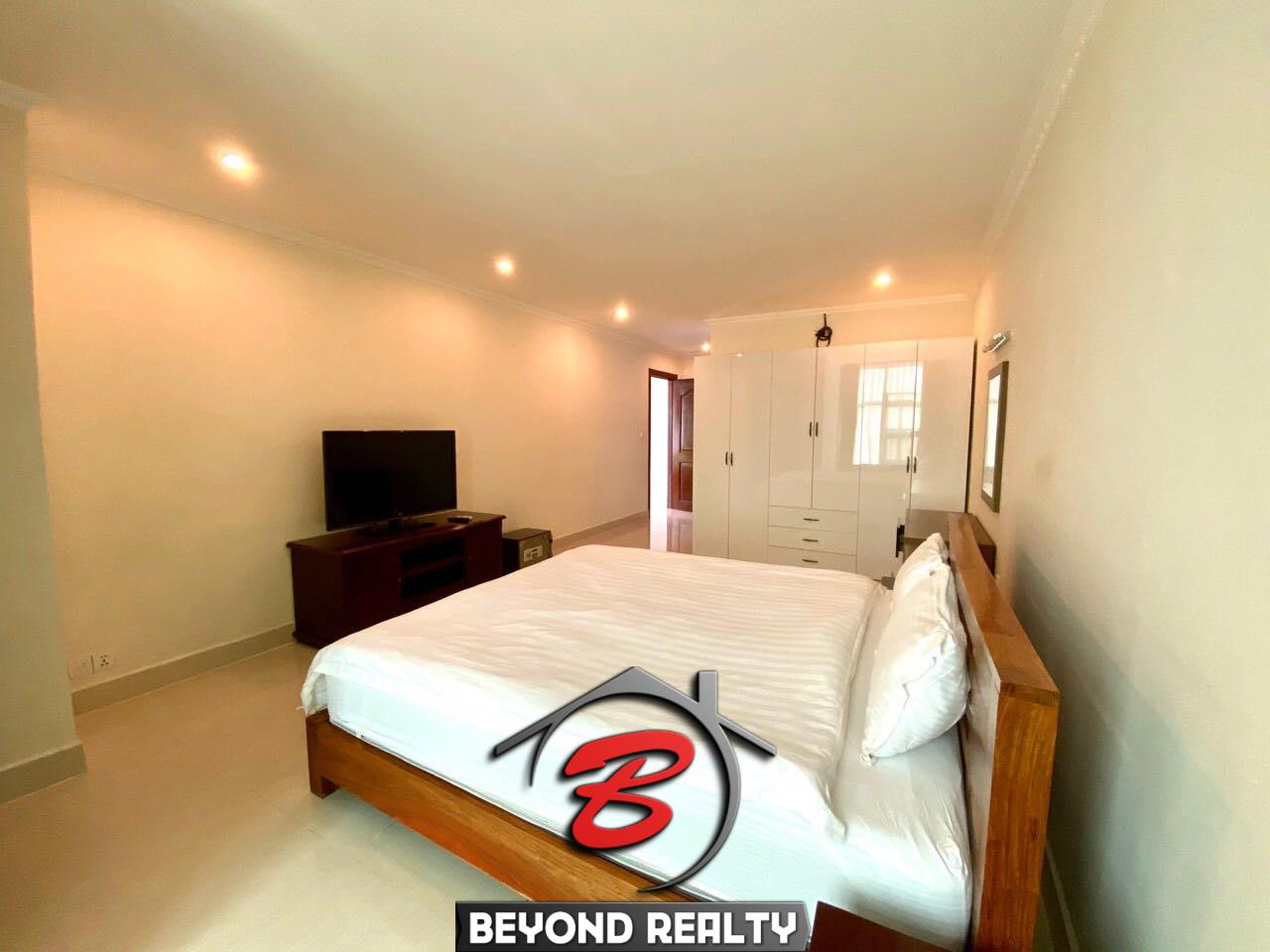 2-bedroom luxury spacious serviced apartment for rent in BKK1 in Phnom Penh in Cambodia