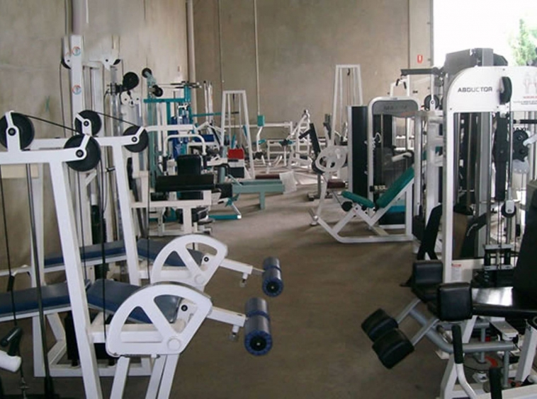 the gym of the serviced apartment for rent in Phnom Penh Cambodia