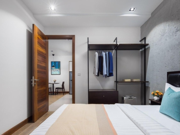 1br serviced apartment rental in Toul Tom Poung Phnom Penh Cambodia