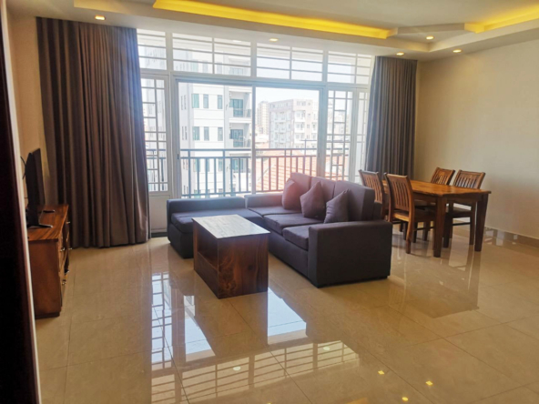 1br serviced apartment for rent in Toul Tom Poung Phnom Penh Cambodia (1)