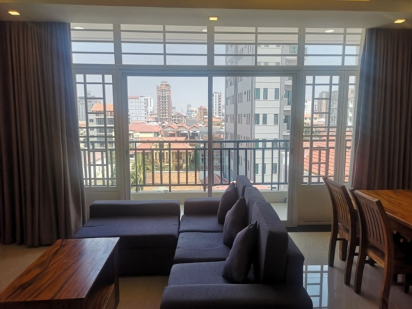 1br serviced apartment for rent in Toul Tom Poung Phnom Penh Cambodia (5)