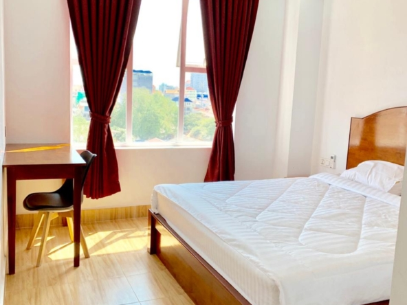 1br serviced apartment for rent in Toul Tom Poung near Mao Tse Boulevard in Phnom Penh Cambodia (3)