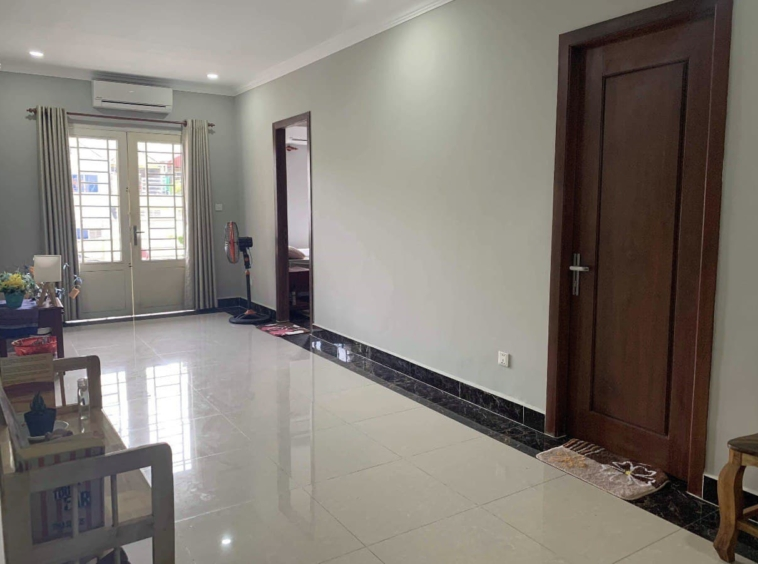 the hall of the 1br serviced flat for rent in Toul Tom Poung Phnom Penh Cambodia
