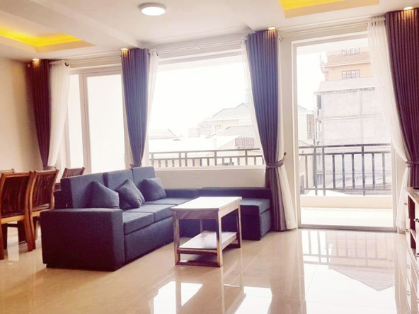 2-bedroom spacious serviced apartment rental in Toul Tom Poung (1)