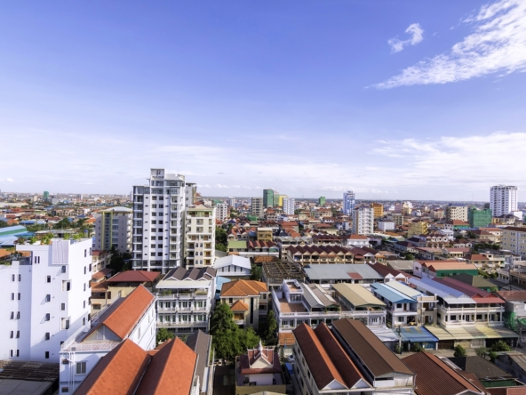 2br serviced apartment for rent in Toul Tom Poung Russian Market Phnom Penh Cambodia (7)