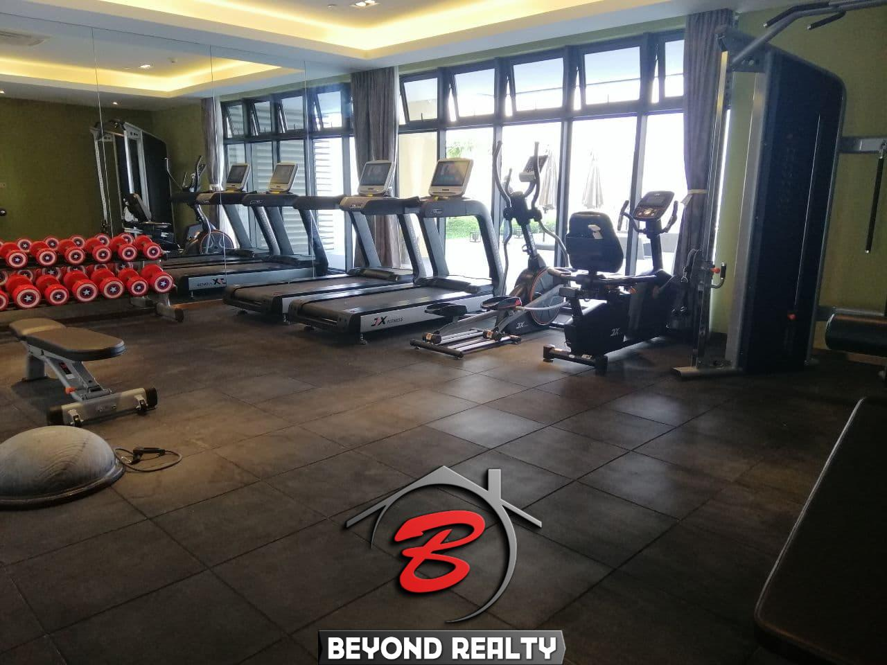the gym of the luxury serviced condo for rent in Veal Vong 7 Makara Phnom Penh