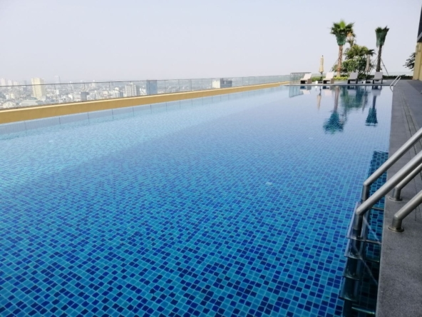 luxury serviced condo for rent in Veal Vong 7 Makara Phnom Penh (9)