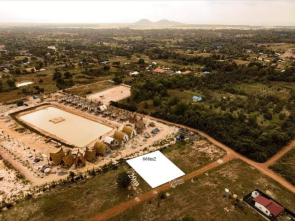 Land for sale in Andoung Khmer Kampot Cambodia (1)