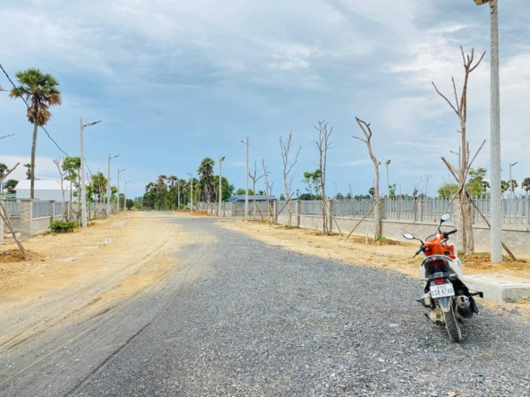 land for sale near Kampot Train Station in Krong Kampot Cambodia (2)