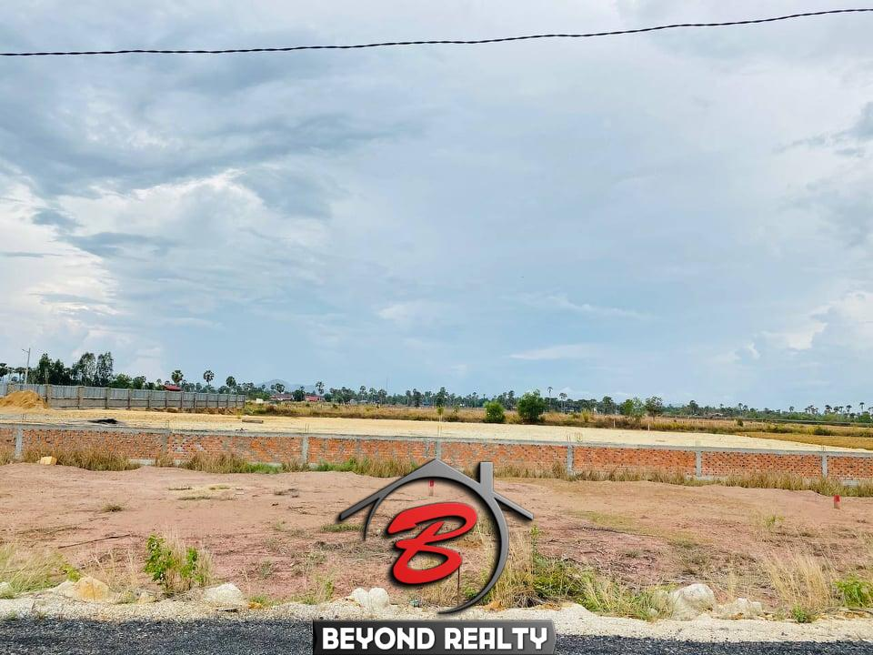 land for sale near Kampot Train Station in Krong Kampot Cambodia