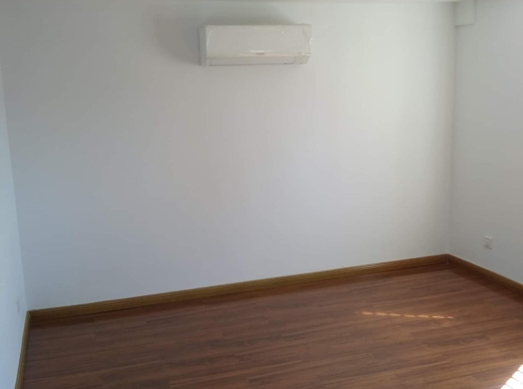 the bedroom of the 1br renovated apartment for sale in Riverside area Daun Penh Phnom Penh