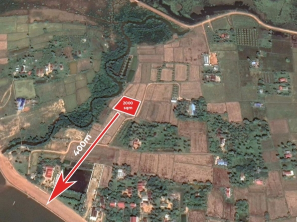 vacant land plot for sale in Kep (a.k.a. Krong Kaeb) Cambodia