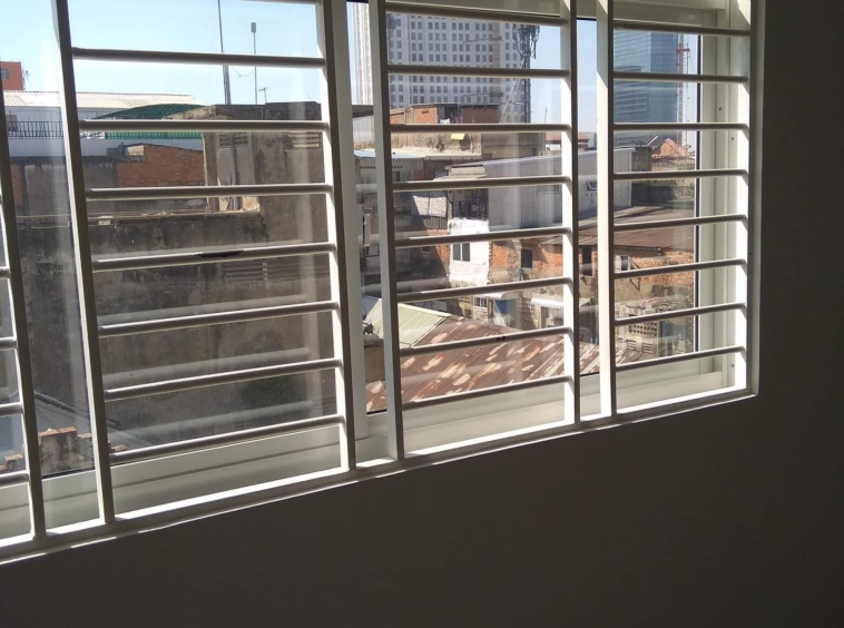 a view from the 2br renovated apartment for sale riverside Phnom Penh