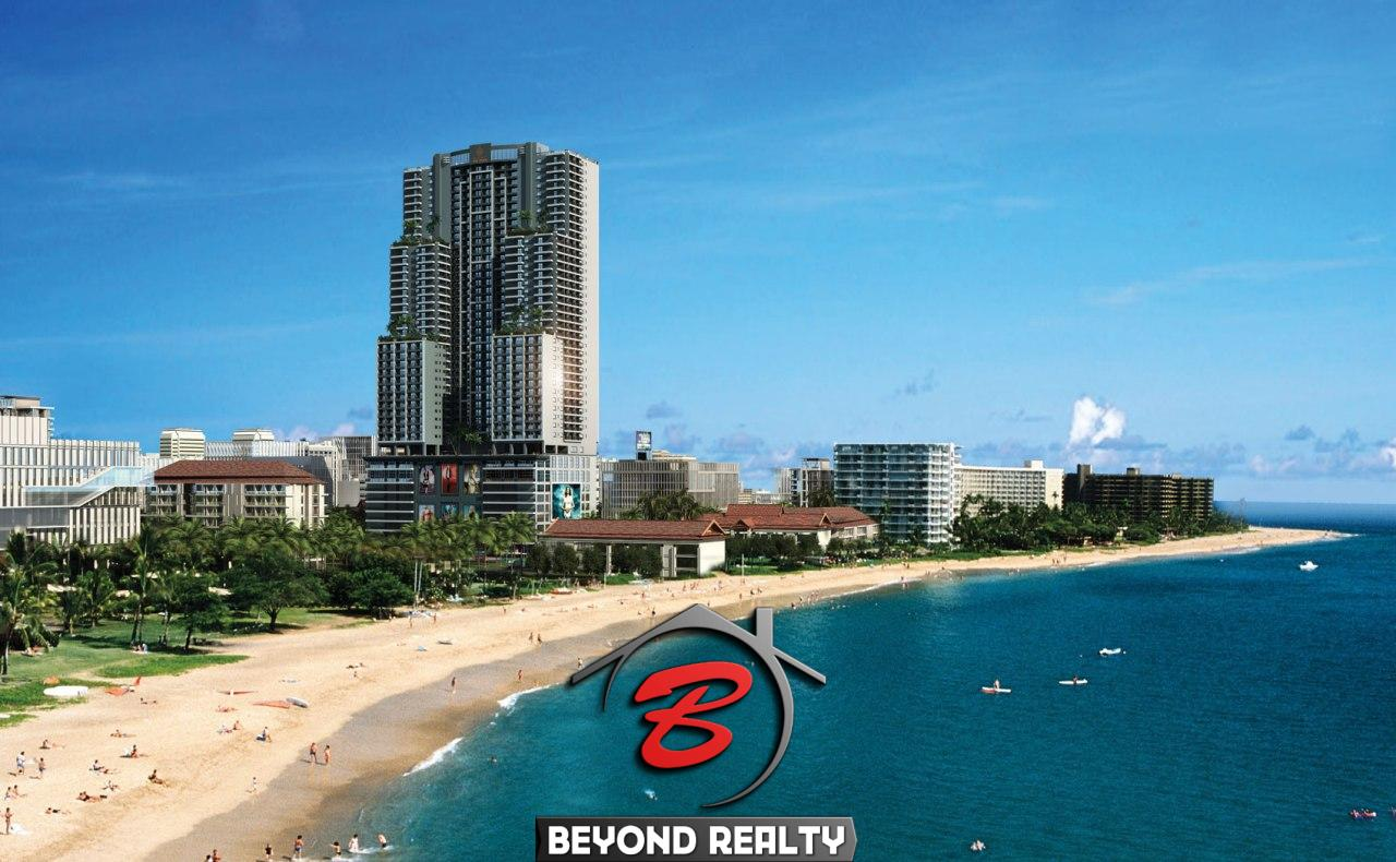the exterior image of Seagate Suites Sihanoukville from aerial viewpoint