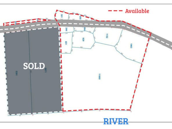 riverside land for sale in Ta Doeb Andoung Khmer Kampot Cambodia (2)