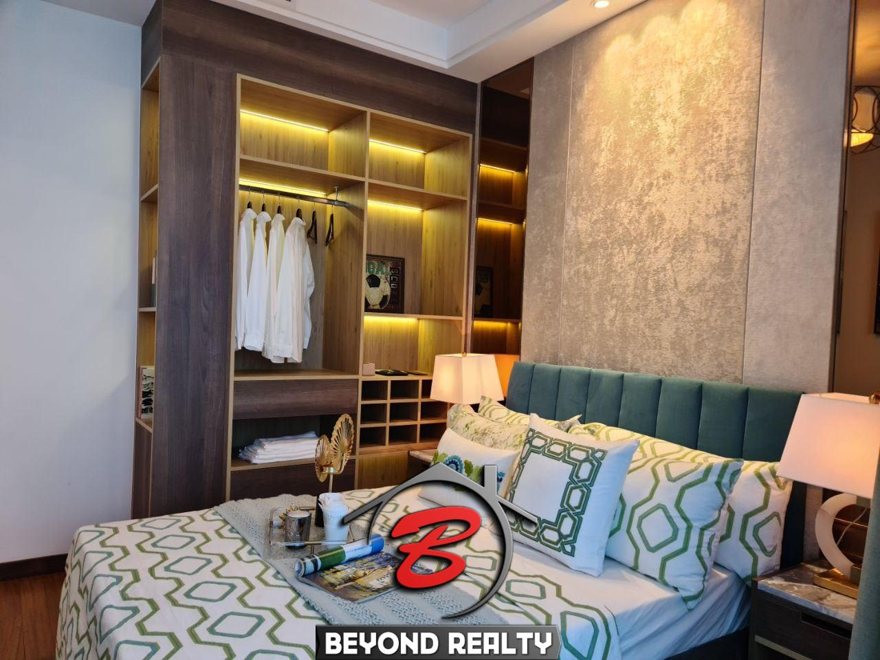 the bedroom of the 1 bedroom condo for sale at Prince Happiness Plaza