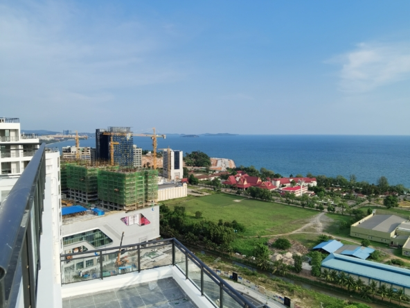 a view from the the terrace of Star Bay Sihanoukville